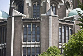 Image of National Basilica of the Sacred Heart. brussels europe belgium may 2010 infomatique photographedbyinfomatique photographedbywilliammurphy streetsofbrussels