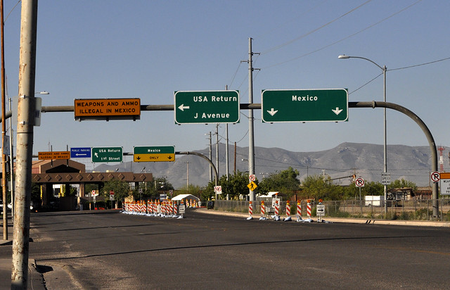 Border Crossing - Douglas, Arizona