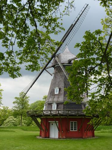 Windmill inside the Kastellet (fort)