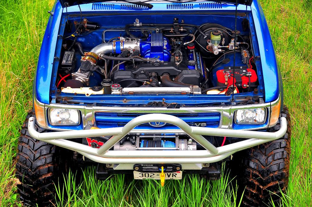 V8 conversion kit for toyota hilux