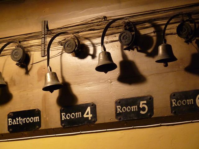 room bells in servants' quarters
