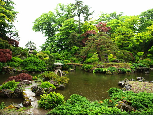 Japanese Garden Rainyday ~雨の庭園~