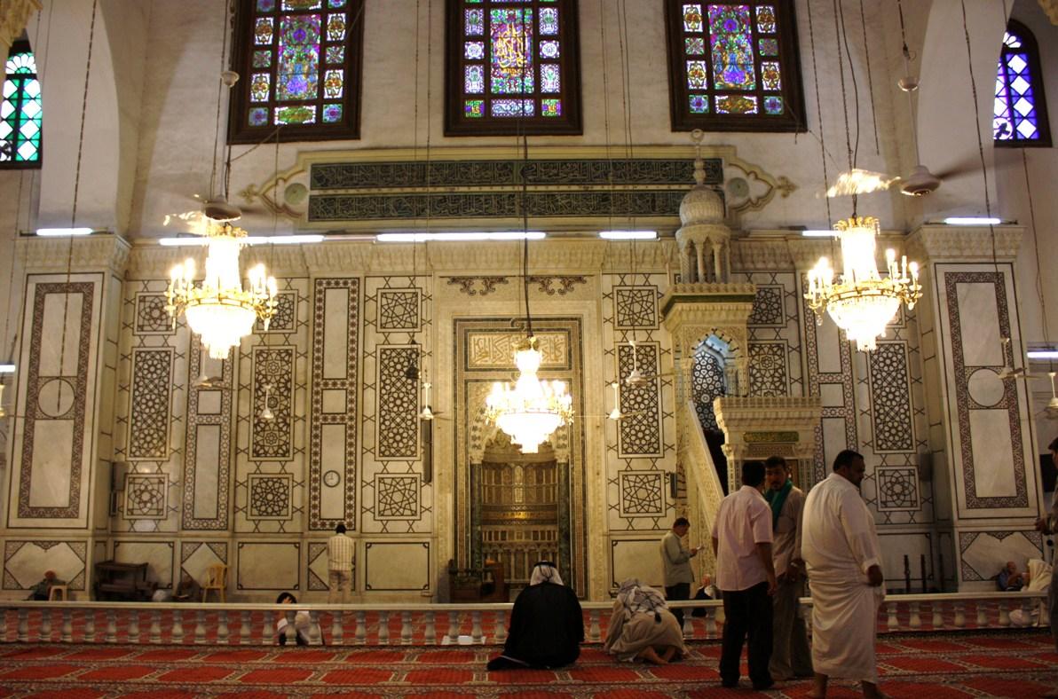 Qibla Wall Umayyad Mosque Damascus Flickr Photo