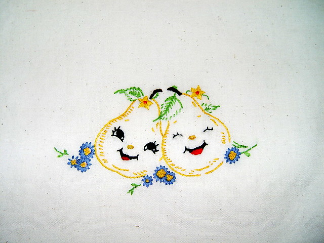 Hand embroidered dish towels embroidery designs - Free embroidery designs for kitchen towels ...