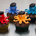 Ashley's Octopus Cupcakes