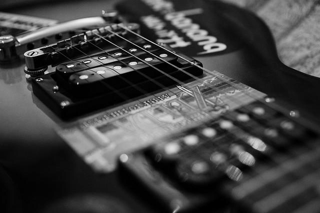 My Guitar in Black & White