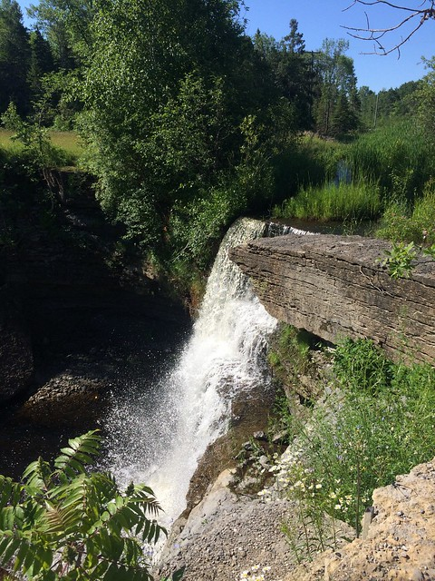High Falls on Manitoulin