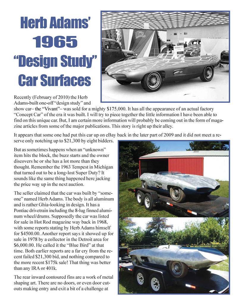 '65 ADAM'S CONCEPT CAR