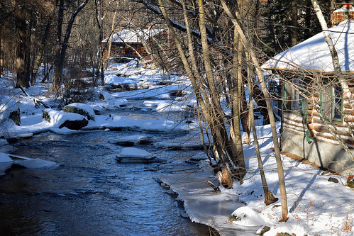 Cabins Along the Pine River