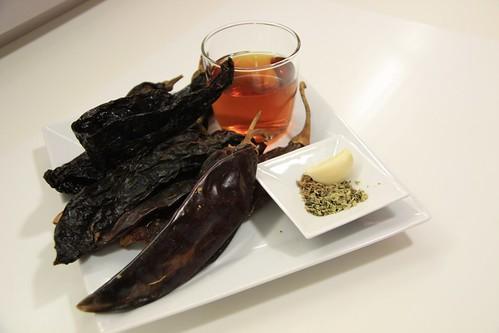 Ingredientes para el Adobo de los Tacos al Pastor