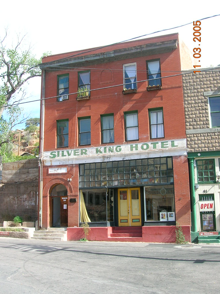 Silver King Hotel in Bisbee, Arizona