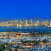 San Diego Skyline by graphicnatured
