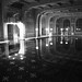 Hearst Castle Roman Pool BW