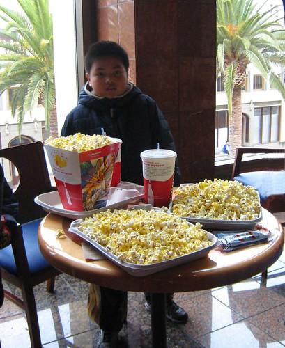 popcorn, movie theater, big gulp IMG_1904