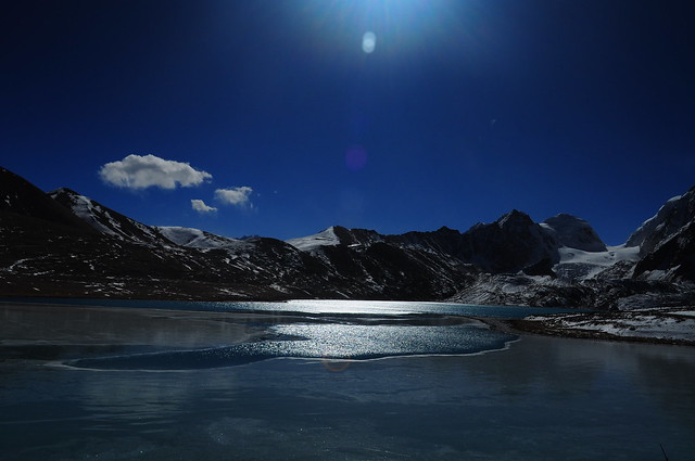lake gurudongmar(north sikkim,india)