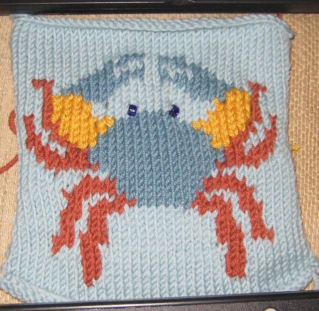 Intarsia Knitting Patterns : Intarsia Knitting square 22 Flickr - Photo Sharing!