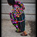 Woman passing, Chichicastenango, Guatemala