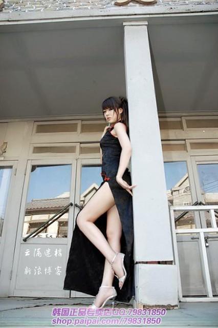 美女车模模特美腿韩国欧美7