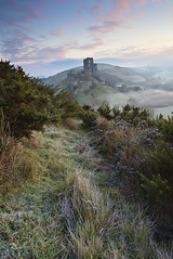 Winter Mist, Corfe Castle