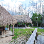 Seminole indians village