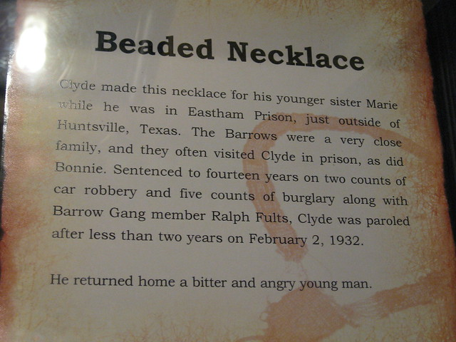 Bonnie And Clyde >> Beaded Necklace Information | Flickr - Photo Sharing!