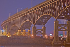 Pulaski Skyway in HDR