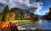 Sentinel Rock Panorama, Yosemite National Park