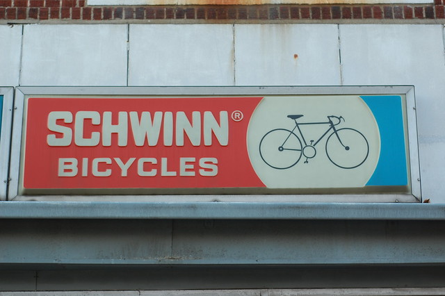 Schwinn Sign @ Eddie's Cycle City
