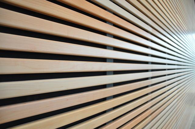 Converging Wooden Lines