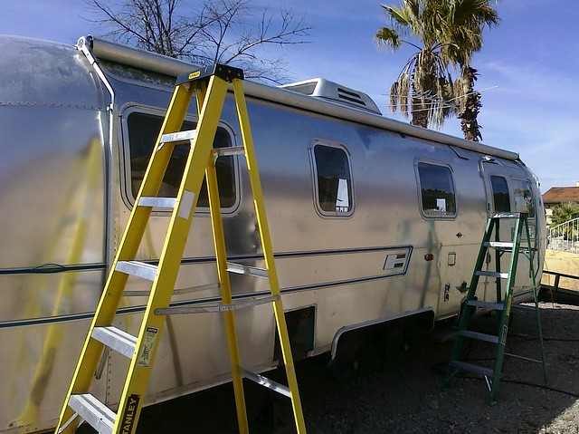 Look At That An Airstream With An Awning Just A Few
