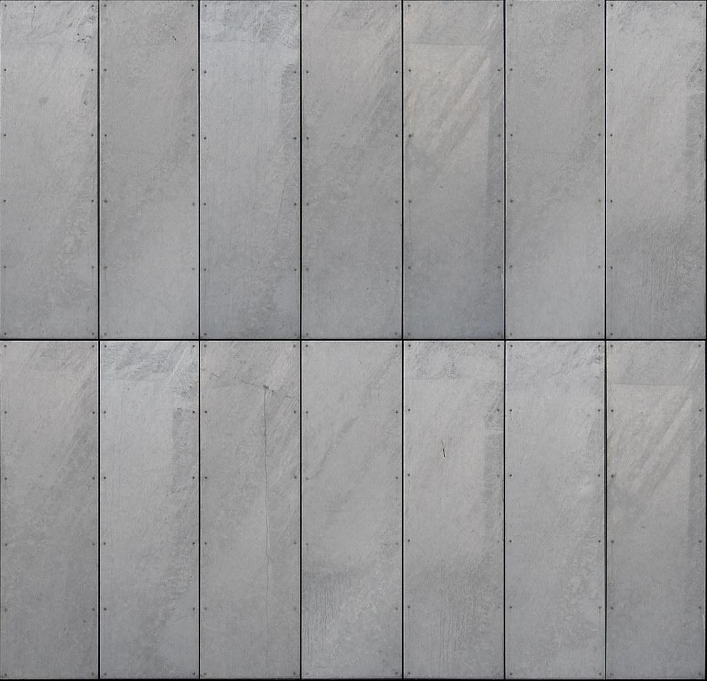 zinc cladding texture