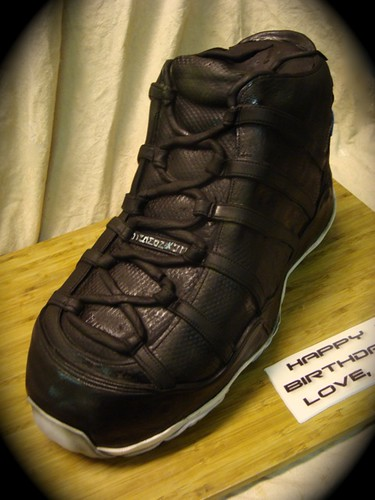air jordan space jams  shoe cake