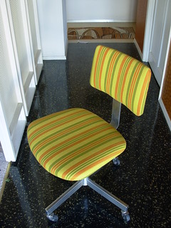 Sold Striped Mod Task Chair 06