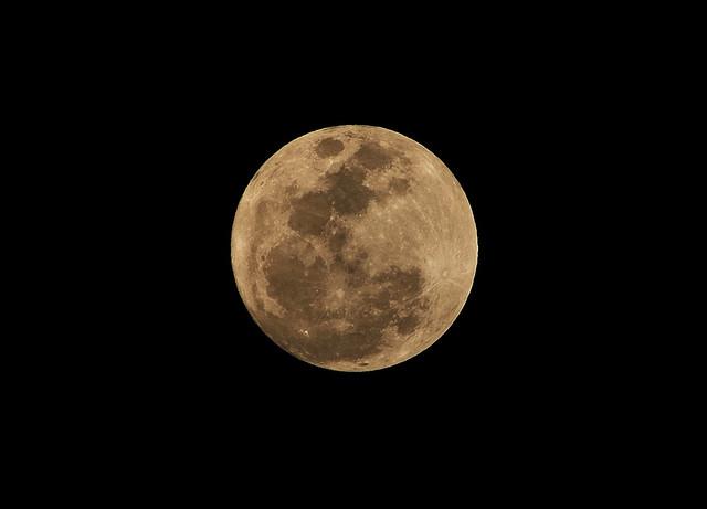 很滿的滿月