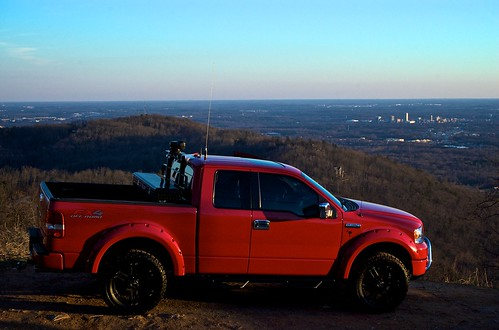 Ford F150 over Greenville, SC