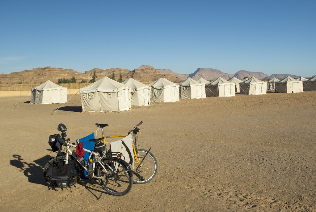 bikes in the desert