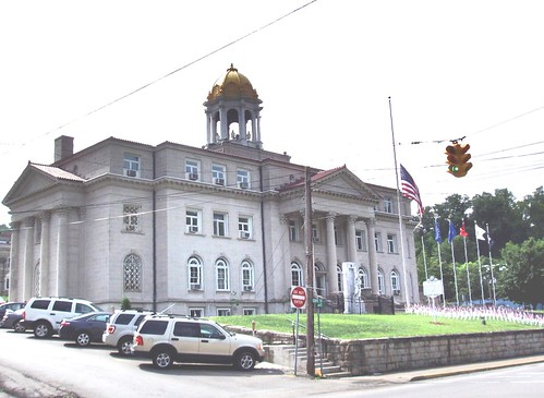 West Virginia: Boone: Madison: County Courthouse