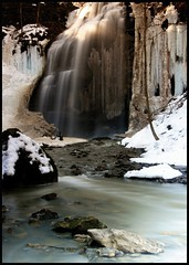 Thawed Tiffany Falls