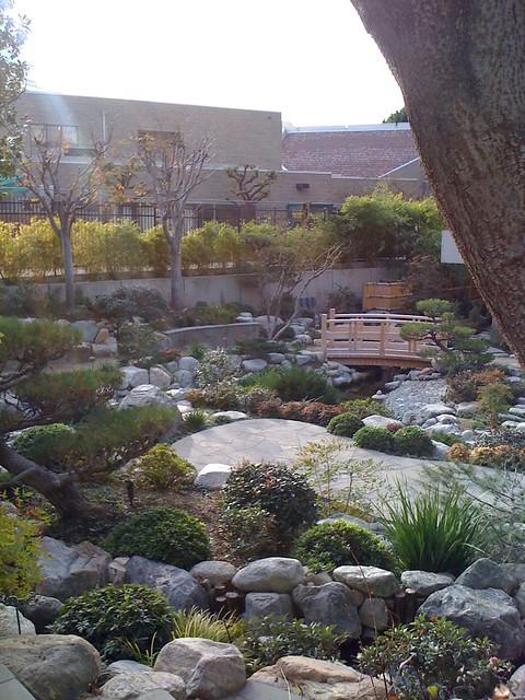 James Irvine Japanese Garden (Seiryu-en, Or Garden Of The
