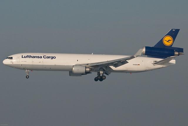 Lufthansa Cargo McDonnell Douglas MD-11SF D-ALCQ (38501) - Hull Loss July 27,2010 - Riyadh - LH8460