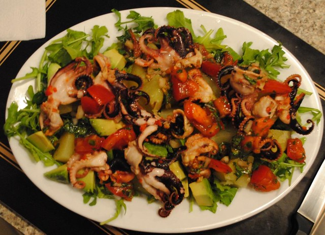 greek-octopus-salad (3) | Flickr - Photo Sharing!