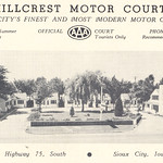 Hillcrest Motor Court, Sioux City, Iowa