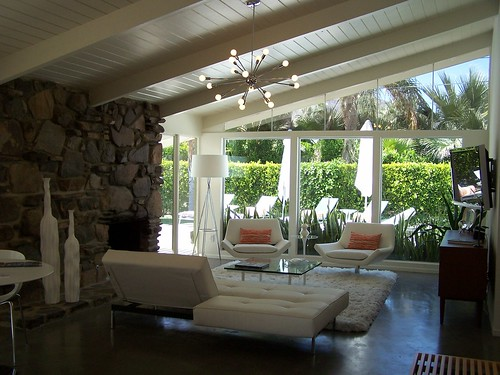Interior of Twin Palms Estates House