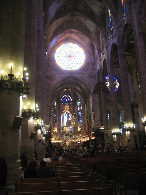 Inside Gothic Cathedral | Flickr - Photo Sharing!