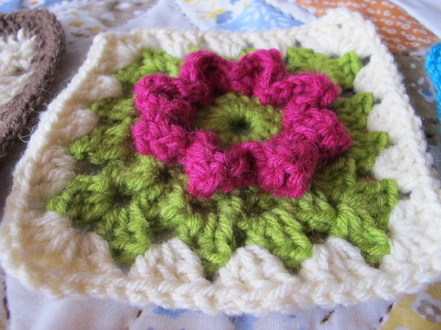 Easy Crochet Flower Granny Square Pattern Manet For