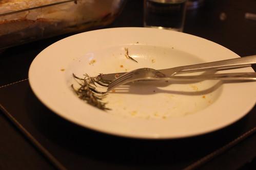 Dinner, done