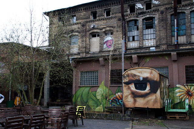 Bombed Out Train Depot Berlin Flickr Photo Sharing