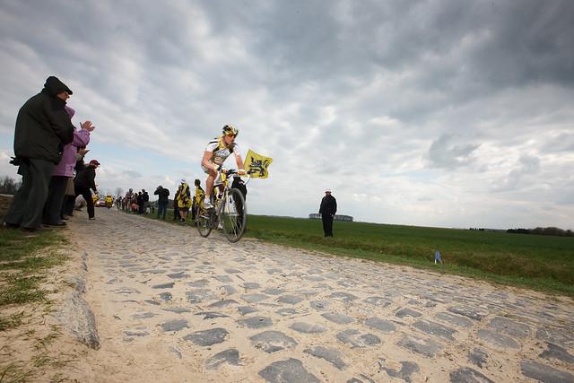 The famous cobbles of the Paris-Roubaix. Photo: tetedelacourse