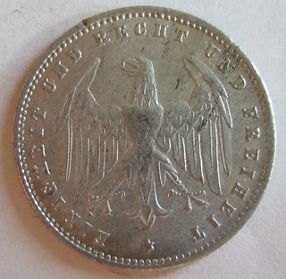 GERMANY, 1923 ---200 MARKS, RAPID INFLATION PERIOD b
