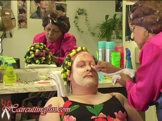 Sissy Salon Punishment Perm
